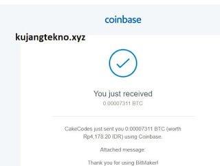 Terbukti Aplikasi Bitmaker Membayar Bitcoin
