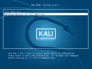 Cara Reset Password Root Kali Linux