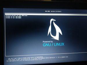 cara mengganti background grub linux